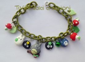 Studio Ghibli loving bracelet Version 5 by tivibi