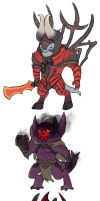 Dota2 - Chibi Doom SF SD by spidercandy
