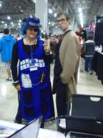 Animate Miami '13: The TARDIS and The Doctor by NaturesRose