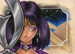 ACEO - Beautiful Deathbringer by BloodhoundOmega