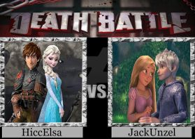 Death Battle HiccElsa vs JackUnzel by HiccElsa32