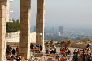 the view at the getty by theFATpirate