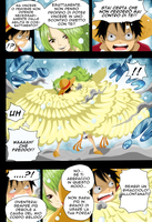 One Piece 683: Luffy and Mone by loreXII