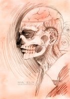 Rick Genest Sketch by Giname