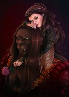 Beauty + The Beast by Gudulett-e