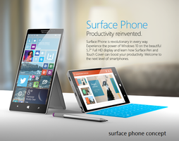 Surface Phone Concept by Yashlaptop
