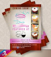 Dove's Petite Sweets Flyer by AnotherBcreation