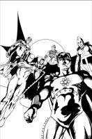 Squadron Supreme: Welcome Back - Cover by joeyjarin