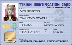Tyrian I.D. Card by Sinner-PWA