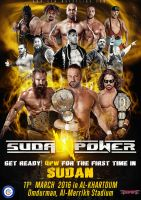 QPW Sudan Power Official Poster Artwork by Ahmed-Fahmy