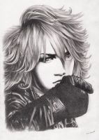 Ruki of the GazettE-3 by Mahuyu