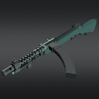 Ironwing Type 100 Sub-Machine Gun (Updated) by The-Ironwing-Kaiser