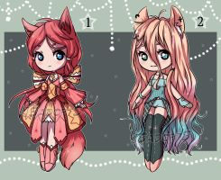 SB - 5$ KEMONOMIMI auction [CLOSED] by JS-AdoptS