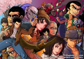 SHENMUE SAGA by JFRteam