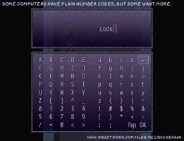 AHF Game: Computer Codes by WaywardInsecticon