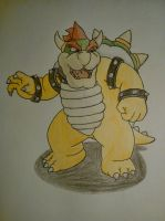 Bowser by MesophaneGryyn