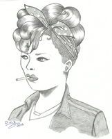Rihanna by Dmk-Dreamaker