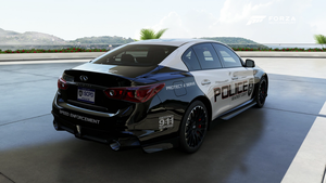 SCPD - 2014 Infiniti Q50 Eau Rouge - Back by xboxgamer969