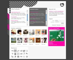 talentfactory online magazine by funkidesign