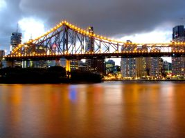 Brisbane Storey Bridge by driftingdreamx
