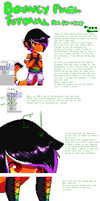 Bouncy Pixel Tutoral- For Sai and Gimp by 13r-e