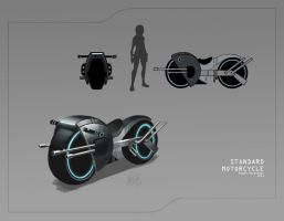 Motorcycle concept by MeganMissfit