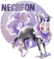 Necreon - Ghost Eeveelution by Seoxys6