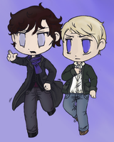 Sherlock and John by ContntlBreakfst