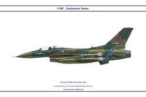 Fantasy 620 F-16C Confederate by WS-Clave