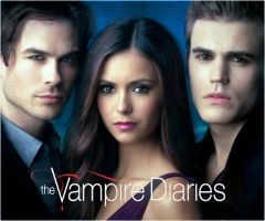 Damon, Elena and Stefan by Lady-Delicious
