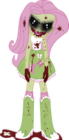 DemonShy (The Rose Of Life) - Equestria Girl by j5a4