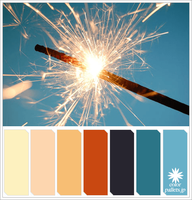 Sparkling firework Colorpallet by colorpallets