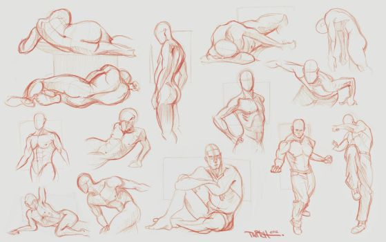 figure sketches by twitchx7