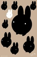 Oddball Bunnies by StrawberrySoulReaper