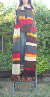 Fourth Doctor Scarf: Completed by KirriiHouseki