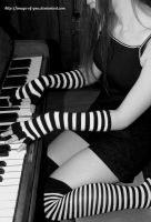 Keyboard und Stripes by Image-of-You