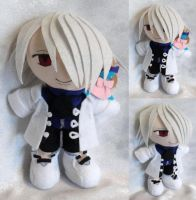 Mini Plushie Xerxes Break by ThePlushieLady
