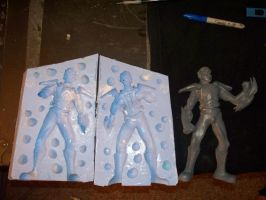 mold and casting by Angelsrflamabl