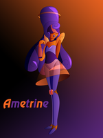 Ametrine the Shy Gem by Keytee-chan