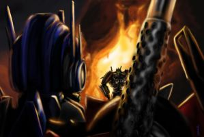 Optimus meets Nemesis by Xx-Antares-xX