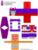 Paper Pezzy- Alpha Trion 'G1' by CyberDrone