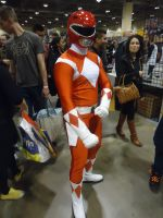 Toronto Comic-Con 2014: MMPR Red Ranger by NaruHinaFanatic
