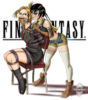 Quistis and Yuffie by MisterEye