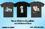 New Derpy shirt designs by Toxic-Mario