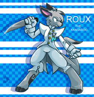 Roux the Kangaroo by MythicDragoness13