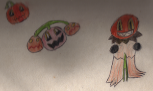 Halloween Fakemon by RedPanda7