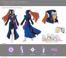 Mass Effect OC - Curator Vakarian by StellarStateLogic