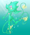 Water Dancer: COLLAB by SilentRisingSun