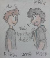eww ll Crankgameplays and Markiplier by Puppyrelp