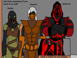 Ask Nattie and Cerberus and Damick Questions by Natalia-Clark